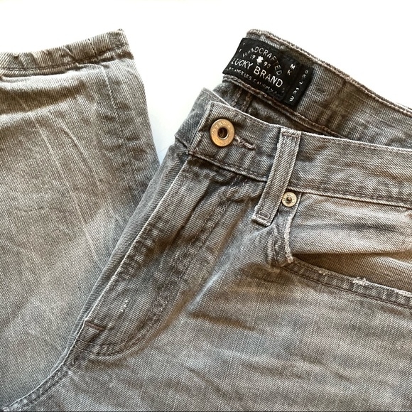 Lucky Brand Other - Lucky Brand Gray 121 Heritage Slim Jeans
